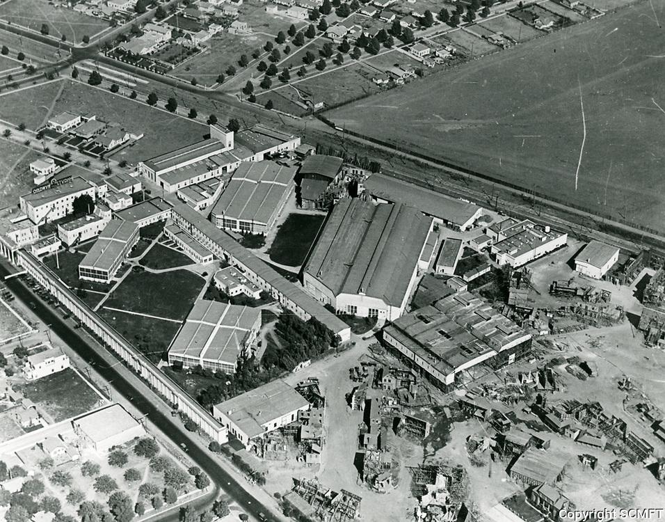 1922 Aerial of Goldwyn Studios in Culver City