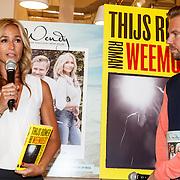 NLD/Amsterdam/20150612 - Boekpresentatie Thijs Römer en bladpresentatie Wendy van Dijk, Wendy van Dijk en Thijs Römer