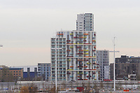 OLYMPIC GAMES - LONDON 2012 VENUES - LONDON (GBR) - 23/11/2011 - PHOTO : GREGORY LENORMAND / DPPI - ATHLETES VILLAGE