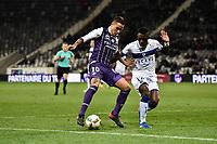 Oscar Trejo (tfc) vs Abdoulaye Keita (scb)<br /> FOOTBALL : Toulouse vs Bastia  - 25eme Journee de L1 - Toulouse - 11/02/2017<br /> <br /> Norway only