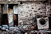 Burned house in Artemida, Greece, on thursday, Aug. 30, 2007<br /> <br /> Aretmida and the surrounding villages was hard hit by the fire. Many houses burned and 19 people were killed.