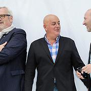 NLD/Haarlem/20120627 - Filmpremiere Ice Age 4, Ernst Daniel Smid, Jack van Gelder en Gers Pardoel