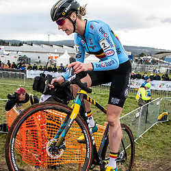 20190201: UCI CX Worlds : Dübendorf: Ellen van Loy was the best belgian racer
