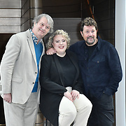 Photocall: 'Hairspray the Musical' with Paul Merton, Lizzie Bea, Michael Ball at Boulevard Theatre, 18th February 2020, London, UK.
