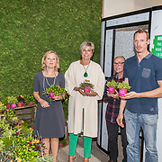 NLD/Zoetermeer/20170904 -  Opening week Alfabetiseringsweek, Pr. Laurentien met 2 taalambassadeurs en minister Jet Bussemaker