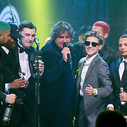 NLD/Amsterdam/20160321 - Edison Pop Awards 2016, Lil Kleine en New Wave winnen awards