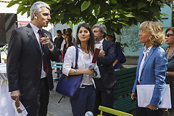 June 23, 2017 - Rome, Italy - The Mayor of Rome Virginia Raggi inaugurates the new Refreshment Point of  Fori Imperiali Tourist Information Point and presents the tourism data in the capital of the early 2017 in Rome, Italy. (Credit Image: © Giuseppe Ciccia/Pacific Press via ZUMA Wire)
