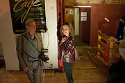 CHLOE THOMAS, Gala performance of  RUBY WAX- LOSING IT  in aid of  Comic Relief. Menier Theatre. London. 23 February 2011. -DO NOT ARCHIVE-© Copyright Photograph by Dafydd Jones. 248 Clapham Rd. London SW9 0PZ. Tel 0207 820 0771. www.dafjones.com.