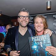 NLD/Amsterdam/20171016 - Boekpresentatie PicStory van William Rutten, william en Cynthia Boll