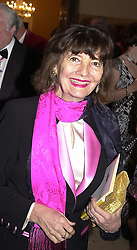 ANNE, LADY RENWICK at a dinner in London <br /> on 23rd May 2000.OEL 10