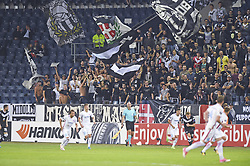 September 28, 2017 - Luzern, Schweiz - Luzern, 28.09.2017, Fussball Europa League - FC Lugano - Steaua Bukarest, Luganos Fans. (Credit Image: © Melanie Duchene/EQ Images via ZUMA Press)