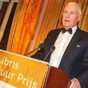 NLD/Amsterdam/20150511 - uitreiking Libris Literatuurprijs 2015, winnaar Adriaan van Dis