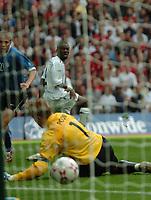 Photo: Tony Oudot.<br /> England v Estonia. UEFA European Championships Qualifying. 13/10/2007.<br /> Shaun Wright Phillips of England scores the first goal