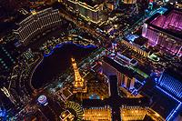 Bellagio & Paris Hotels, Las Vegas Boulevard & Flamingo Road