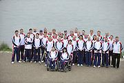 Eton, United Kingdom.  Para and Olympic Canoe Squards, 2012 GB Canoeing Training, Dorney Lake. Wednesday  02/05/2012  [Mandatory Credit; Peter Spurrier/Intersport-images]