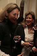 Medina Marks, NCH Spring Ladies lunch. NCH, the children's charity, helps children and young people facing difficulties or challenges in their lives. Mandarin Oriental Hotel. 8 March 2007.  -DO NOT ARCHIVE-© Copyright Photograph by Dafydd Jones. 248 Clapham Rd. London SW9 0PZ. Tel 0207 820 0771. www.dafjones.com.