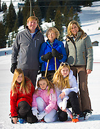 Photo session Royal Family in Lech, 23-02-2015
