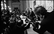 Consultazioni del Presidente della Repubblica con i gruppi parlamentari di Camera e Senato per la crisi di governo. Sala della Loggia, Quirinale. Roma 09 dicembre 2016. Christian Mantuano / OneShot<br />