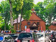 Sanktuarium Matki Bożej Studzieniczańskiej, kościół parafialny pod wezwaniemMatki Bożej Szkaplerznej.
