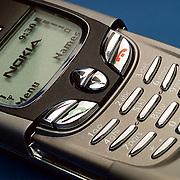 Nokia 8850 open, detail
