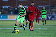 Forest Green Rovers Jordan Morris runs forward during the Pre-Season Friendly match between Worthing FC and Forest Green Rovers at Woodside Road, Worthing, Uni on 1 August 2017. Photo by Shane Healey.