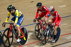 March 2, 2019 - Pruszkow, Poland - Lizbeth Y Salazar Vazquez, Sofia Arreola Navarro (MEX) compete in the Women's Madison on day four of the UCI Track Cycling World Championships held in the BGZ BNP Paribas Velodrome Arena on March 02 2019 in Pruszkow, Poland. (Credit Image: © Foto Olimpik/NurPhoto via ZUMA Press)