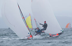 The annual RYA Youth National Championships is the UK's premier youth racing event. Day 3 with winds backing to the North the racing started on the Largs Channel.<br /> <br /> 2344, James Hammett, Piers Nicholls, Hisc, 29er Boy <br /> <br /> Images: Marc Turner / RYA<br /> <br /> For further information contact:<br /> <br /> Richard Aspland, <br /> RYA Racing Communications Officer (on site)<br /> E: richard.aspland@rya.org.uk<br /> m: 07469 854599