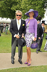 ROD STEWART and PENNY LANCASTER at the 3rd day of Royal Ascot 2009 on 18th June 2009.