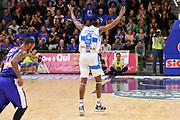 DESCRIZIONE : Campionato 2014/15 Dinamo Banco di Sardegna Sassari - Enel Brindisi<br /> GIOCATORE : Shane Lawal<br /> CATEGORIA : Esultanza Mani<br /> SQUADRA : Dinamo Banco di Sardegna Sassari<br /> EVENTO : LegaBasket Serie A Beko 2014/2015<br /> GARA : Dinamo Banco di Sardegna Sassari - Enel Brindisi<br /> DATA : 27/10/2014<br /> SPORT : Pallacanestro <br /> AUTORE : Agenzia Ciamillo-Castoria / Luigi Canu<br /> Galleria : LegaBasket Serie A Beko 2014/2015<br /> Fotonotizia : Campionato 2014/15 Dinamo Banco di Sardegna Sassari - Enel Brindisi<br /> Predefinita :
