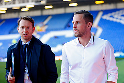 Everton's new signing Gylfi Sigurdsson arrives at Goodison Park  - Mandatory by-line: Matt McNulty/JMP - 17/08/2017 - FOOTBALL - Goodison Park - Liverpool, England - Everton v Hajduk Split - UEFA Europa League First Playoff Round - First Leg