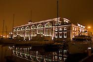 Trieste, Porto vecchio. Ex pescheria centrale oggi sede espositiva. Trieste, the Old Port. Ex central fish market, now seat for exhibitions.