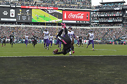 The Philadelphia Eagles defeated the Minnesota Vikings 21-10 at Lincoln Financial Field on October 23, 2016 in Philadelphia, Pennsylvania. (Photo by Drew Hallowell/Philadelphia Eagles)