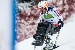Bambousek Pavel of Czech Republic during Slalom race at 2019 World Para Alpine Skiing Championship, on January 23, 2019 in Kranjska Gora, Slovenia. Photo by Matic Ritonja / Sportida
