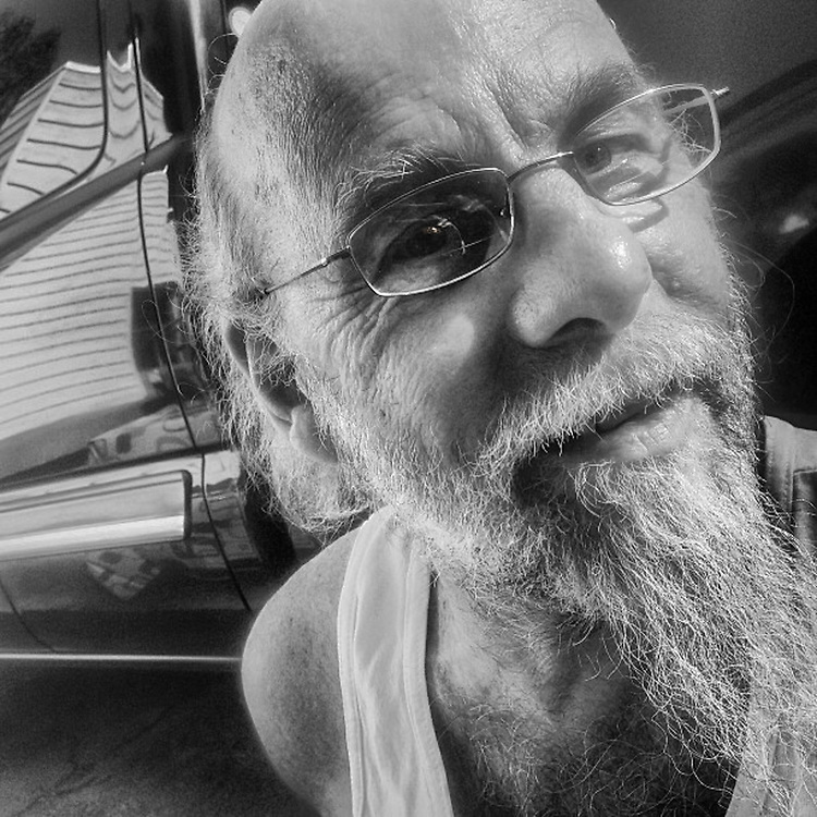 Blues musician, Gary Sloan, Anchorage