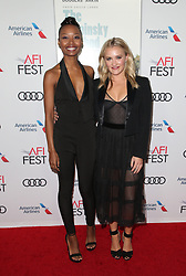 AFI Fest 2018 world premiere screening of The Kominsky Method at the TCL Chinese Theater in Hollywood,California on November 10, 2018, CAP/MPIFS ©MPIFS/Capital Pictures. 10 Nov 2018 Pictured: Ashleigh LaThrop, Emily Osment. Photo credit: MPIFS/Capital Pictures / MEGA TheMegaAgency.com +1 888 505 6342