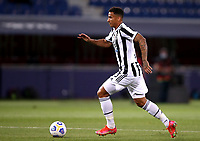 BOLOGNA, ITALY - MAY 23: Danilo of Juventus FC in action ,during the Serie A match between Bologna FC and Juventus FC at Stadio Renato Dall'Ara on May 23, 2021 in Bologna, Italy.(Photo by MB Media/Getty Images)
