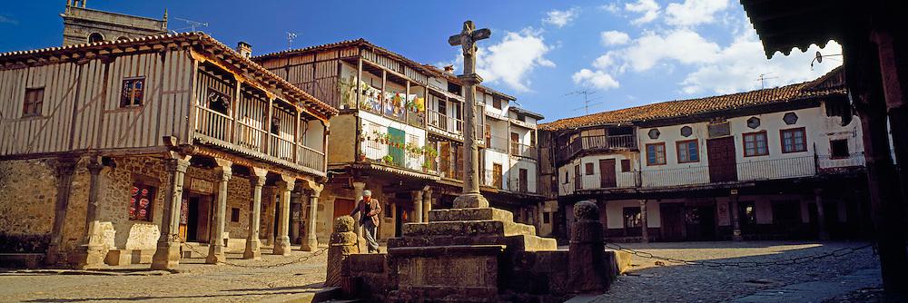 SPAIN, CASTILE AND LEON La Alberca rustic, medieval village