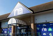 Mothercare shop store Copdock, Ipswich, Suffolk, England, UK