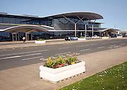 Airport terminal building Guernsey