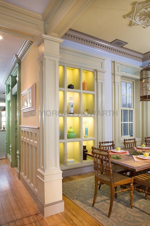 2909 P Street Washington DC Dining Room Hallway foyer entrance archway