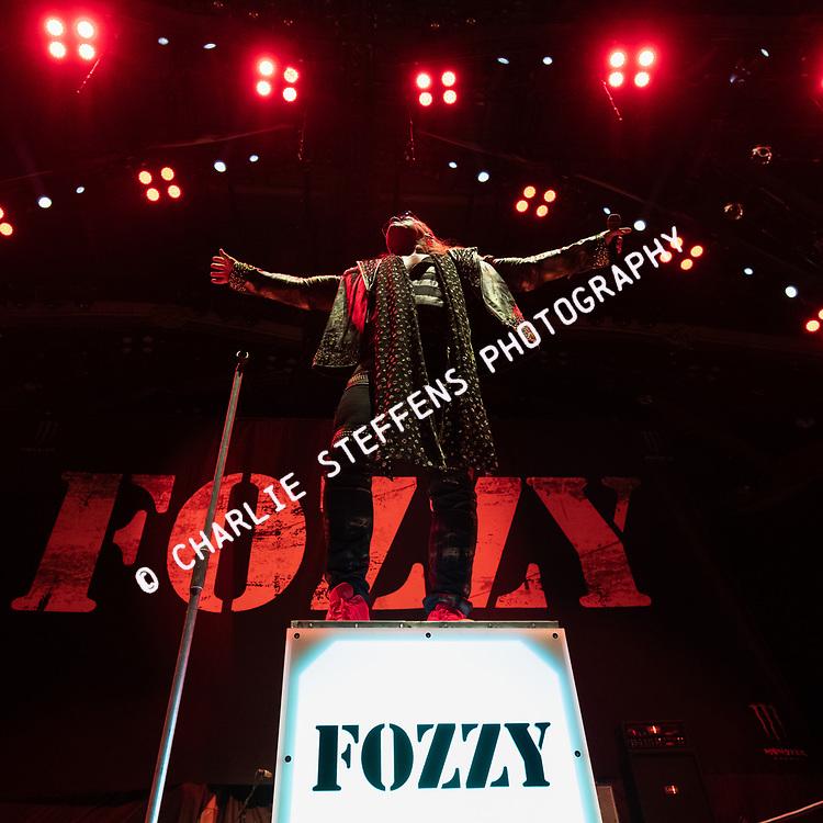 CHRIS JERICHO of Fozzy at Banc of California Stadium in Los Angeles, California