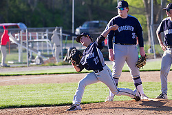 30 April 2021:  Ridgeview Mustangs at Heyworth Hornets on Centennial Park Field<br /> <br /> (Photo by Alan Look)