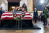 April 13, 2021 - DC: U.S. Capitol Police Officer William Evans Lies In Honor In Capitol Rotunda