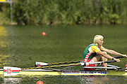 2006 FISA World Cup, Lucerne, SWITZERLAND, 09.07.2006 BLR W1X Ekaterine KARSTEN, Photo  Peter Spurrier/Intersport Images email images@intersport-images.com, Finals Day, Morning A Finals. ....[Mandatory Credit Peter Spurrier/Intersport Images... Rowing Course, Lake Rottsee, Lucerne, SWITZERLAND.