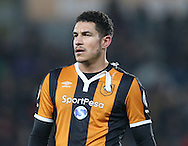 Jake Livermore of Hull City with a torn shirt during the English Premier League match at the KCOM Stadium, Kingston Upon Hull. Picture date: December 30th, 2016. Pic Simon Bellis/Sportimage