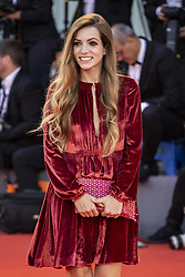 Aurora ruffino walks the red carpet ahead of the Roma screening during the 75th Venice Film Festival at Sala Grande on August 30, 2018 in Venice, Italy. Photo by Marco Piovanotto/ABACAPRESS.COM