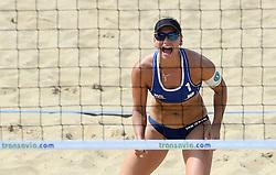 18-07-2014 NED: FIVB Grand Slam Beach Volleybal, Scheveningen<br /> Knock out fase - Marleen van Iersel