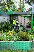Press preview day at The RHS Chelsea Flower Show.