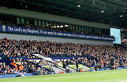 18 March 2017 Premier League Football : West Bromwich Albion v Arsenal :<br /> the words to Psalm 23 are written on the wall of the main stand at the Hawthorns.<br /> Photo: Mark Leech
