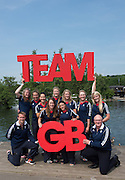 Caversham, Nr Reading, Berkshire.<br /> <br /> GBR  W8+. Bow. GBR W8+, Bow Katie GREVES, Melanie WILSON, Frances HOUGHTON, Polly SWANN, Jessica EDDIE, Olivia CARNEGIE-BROWN, Karen BENNETT Zoe LEE and Cox, Zoe DE TOLEDO, with coachs left. James HARRIS   and right Paul THOMPSON, Olympic Rowing Team Announcement  Press conference at the RRM. Henley.<br /> <br /> Thursday  09.06.2016<br /> <br /> [Mandatory Credit: Peter SPURRIER/Intersport Images] 09.06.2016,